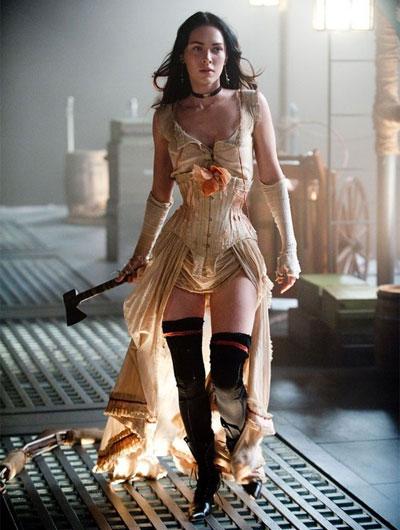 Меган Фокс - королева борделя