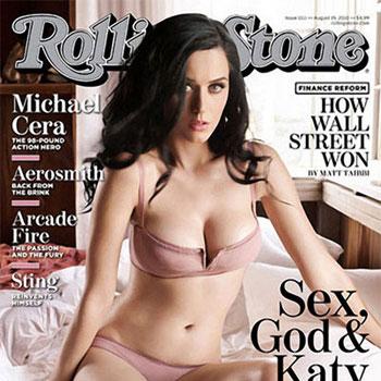 Сексуальная Кети Перри в фотосете для Rolling Stone (Фото)
