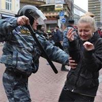 Госдума разрешила будущим полицейским бить женщин