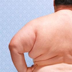 Жирный мужчина женщине не по вкусу