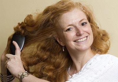 Диета богатая железом способствует росту волос