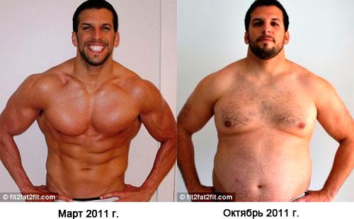 как похудеть толстому парню