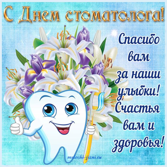Поздравления ко дню стоматолога смс