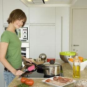 Законы фен-шуй в оформлении кухни