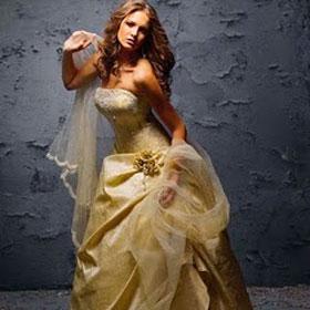 Свадьба в золотом. Превращаемся из невесты в королеву