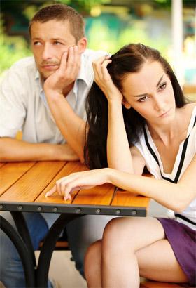 Негативный сексуальный опыт вызвал страх перед женщиной