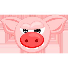 Женщина свинья в сексе