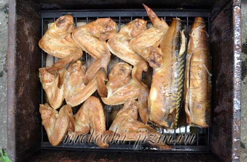 Копчение крылышек в домашних условиях рецепт 569