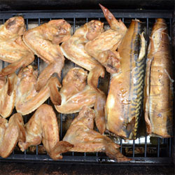 рецепты копчения рыбы в коптильне на костре