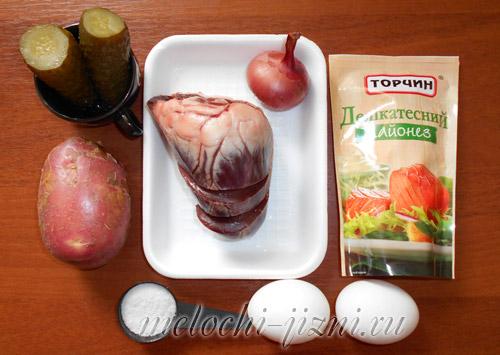 рецепты салатов с фото с ветчиной и овощами