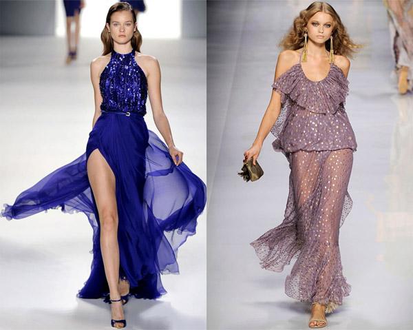 Платье из шифона: стильные образы - Стильная одежда - Мода