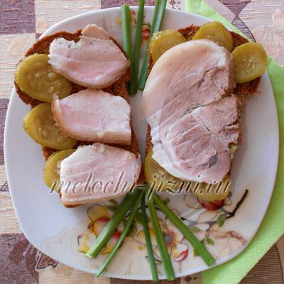 Свиная рулька и подчеревок вареный в пакете - Блюда из мяса и субпродуктов - Кулинария - Мелочи жизни