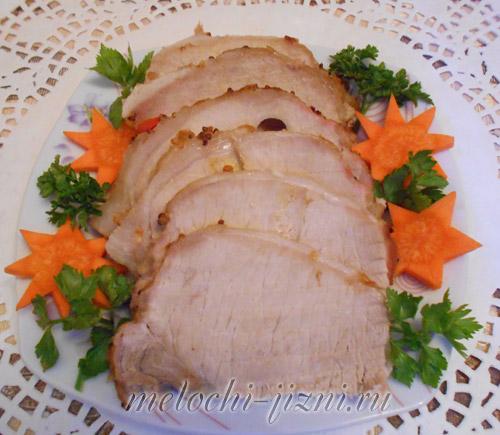 Задок свинины приготовить