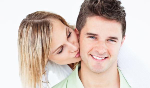 Фото поцелуев женщины и мужчины