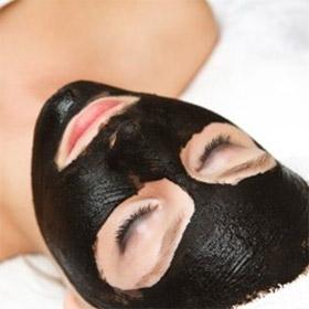 желатиновая маска для лица с активированным углем