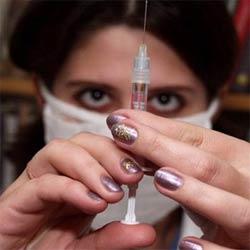 Свиной грипп можно вылечить за 5 минут